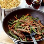Stir-fried beef with hoisin sauce