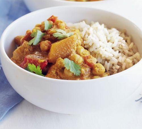 Indian butternut squash curry Recipe