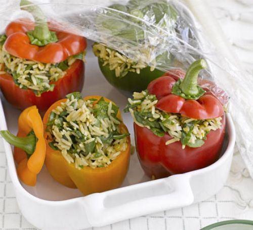 Spiced pepper pilafs Recipe