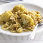 Cauliflower & chickpea pilaf
