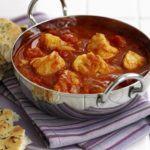Super-quick fish curry