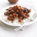 Quick bean & chorizo chilli