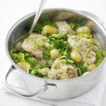 Spring chicken in a pot
