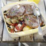 Greek lamb with potatoes & olives