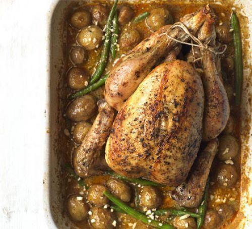 Massaman curry roast chicken Recipe