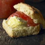 Gingery buttermilk scones