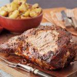 Slow-roast lamb with cinnamon, fennel & citrus