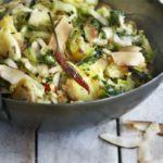 Gujarati cabbage with coconut & potato