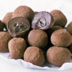 Melting middle truffles