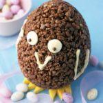 Chocolate Krispie chick