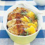 chicken balsamic orange rosemary sauce