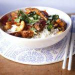 Watercress & chicken stir-fry