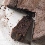 Chocolate & Earl Grey torte