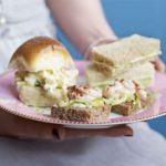 Egg mayo & watercress rolls