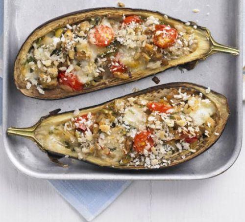 Italian-style stuffed aubergines Recipe