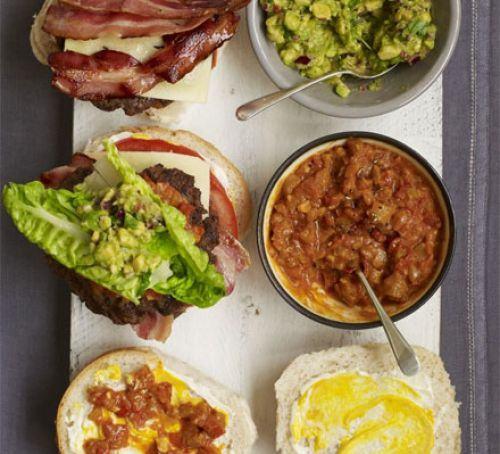 John Torode's big burger Recipe