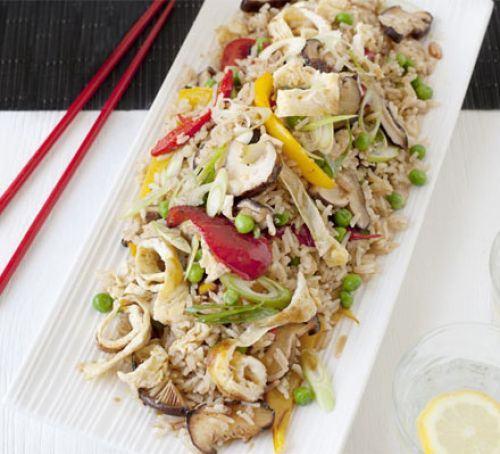 Veggie rice pot Recipe