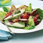 Cumin chicken healthy avocado salad recipe