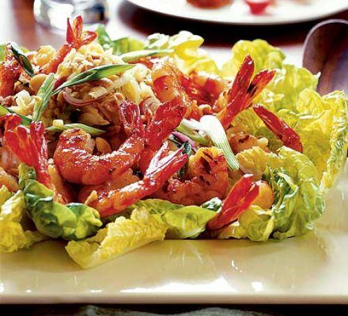 Warm Thai chicken & noodle salad Recipe