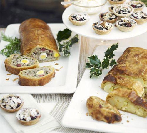 Garland sausage roll slice Recipe