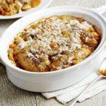 Sausage & butter bean casserole