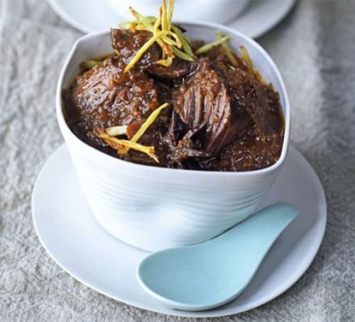 Chinese braised beef with ginger Recipe