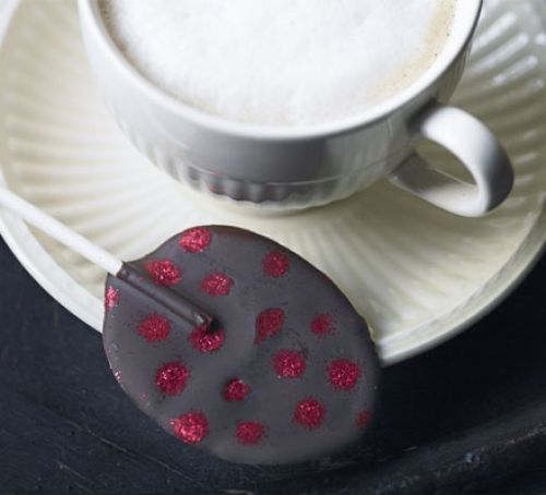 Chilli chocolate egg lollies Recipe