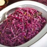 christmas spiced red cabbage Nut free recipe