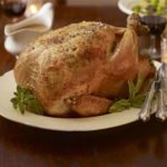Orange & tarragon roast turkey