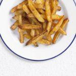 Baked skinny fries