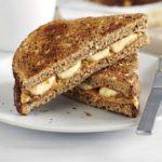 Peanut butter & banana on toast
