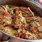 Indian spice box chicken