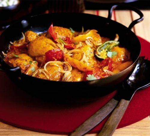 Cumin-scented chicken curry Recipe