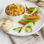 Red lentil & sweet potato pate