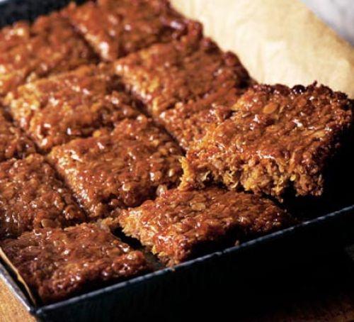 Tuna & sweetcorn slice Recipe