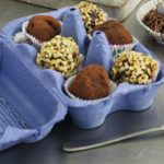 Chocolate truffle egg box