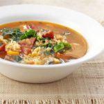 Polish sausage soup