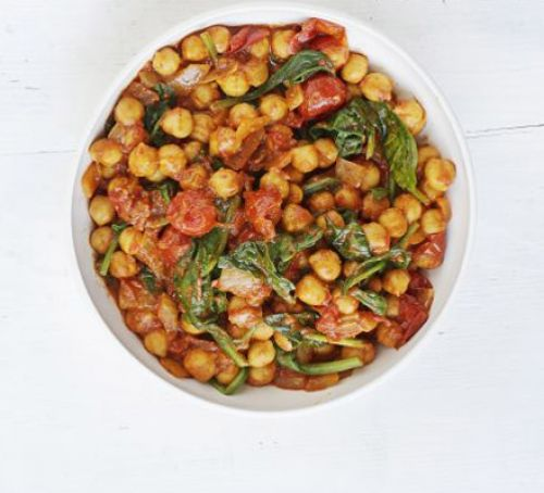 Spinach & chickpea curry Recipe