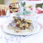 Cherry & almond tarts