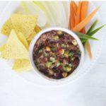 Spicy bean & corn dip