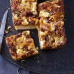 Sicilian pizza (sfincione)