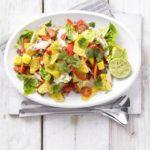Spicy chicken, mango & jalapeno salad