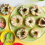 Rice pop doughnuts
