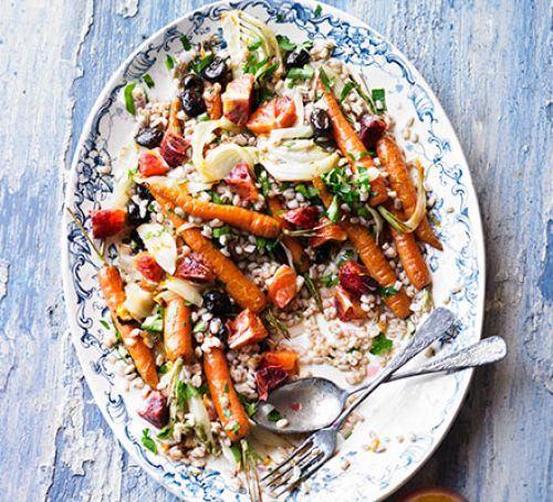 Carrot, orange & avocado salad Recipe