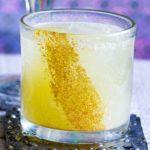 Pineapple & lime mocktail