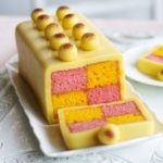 Simnel Battenberg cake