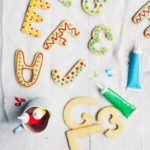 Simple iced biscuits