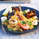 Smoky paprika seafood rice