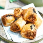 Spanish sausage rolls