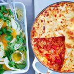 Speedy chorizo ragu lasagne